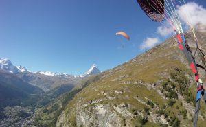 Paragleiten in Zermatt