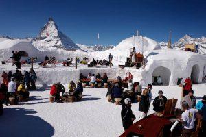 Iglu Dorf, Iglu Übernachtung, Matterhorn