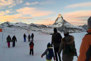 Iglu Übernachtung, Wanderung, Sonnenaufgang, Matterhorn