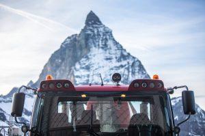 Pistenbullies in Zermatt im Einsatz