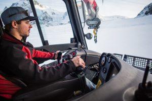 Pistenbully fahren in Zermatt