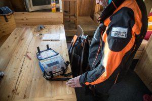 Ausstattung der Pistenpatrouille in Zermatt
