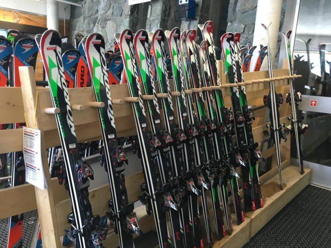 Ski-Neuheiten beim Ski-Test in Zermatt