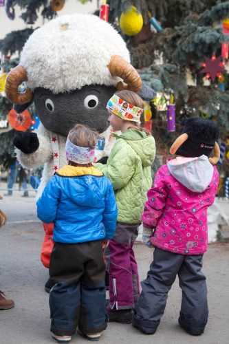 Advent in Zermatt mit Wolli