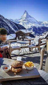 Restaurant Chez Vrony in Zermatt