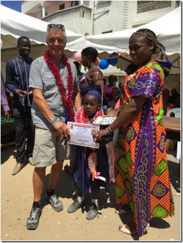 Übertritt in Schule, Urkunde, Afrika