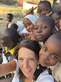 Kinder, Afrika, Selfie