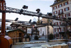 Bühne Zermatt Fashion Show