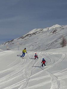 Familien-Skitag in Zermatt auf Sunnegga