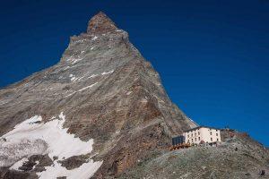 Matterhorn mit Hörnlihütte