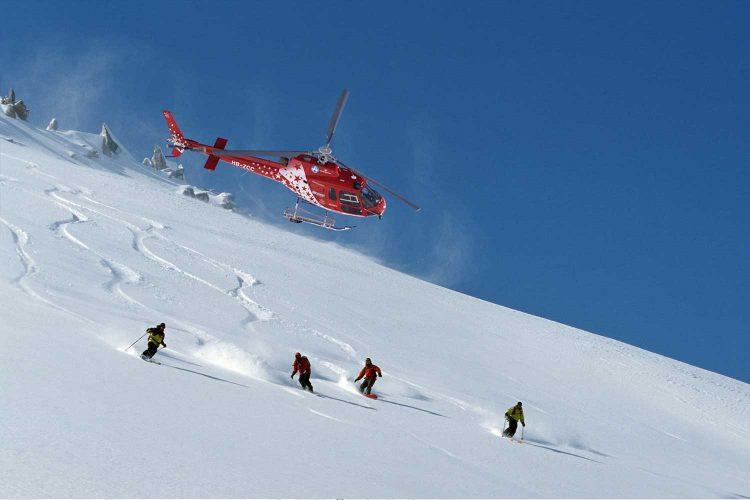 Freeriden mit Helikopterskiing Zermatt