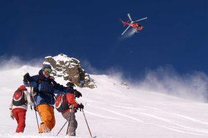 Zermatt, freeride, helikopter