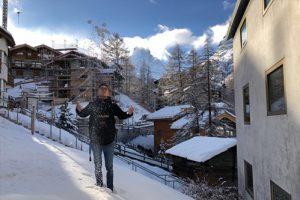 Leben in Zermatt, Wintertag