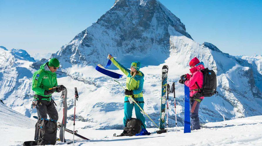 Skitour am Matterhorn