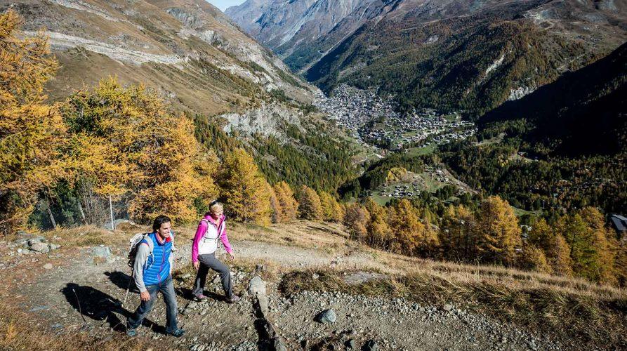 Wanderung am Matterhorn