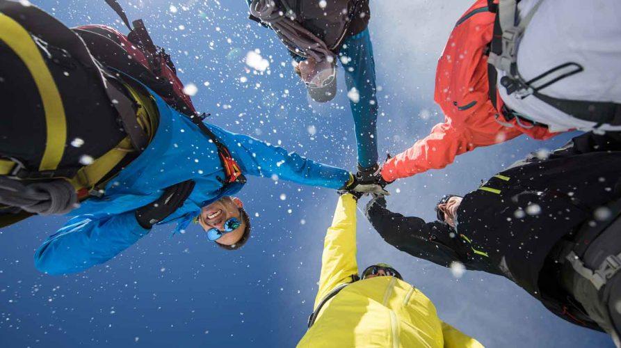 Zermatter Handschlag am Berg
