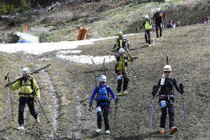 Bergabstieg ohne Ski