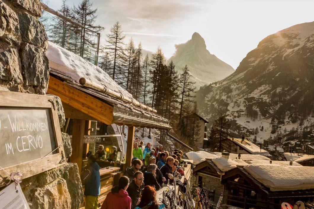 Après-Ski mit Matterhorn