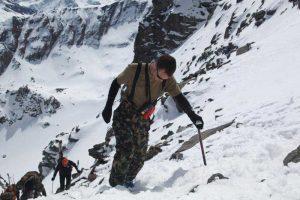 Bergaufstieg von Zermatt nach Verbier