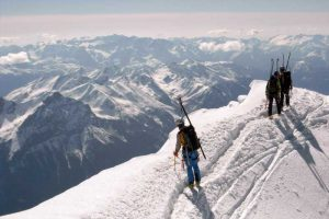 Patrouille des Glaciers Bergpanorama
