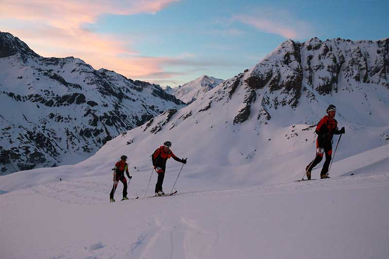 Training für Patrouille Des Glaciers