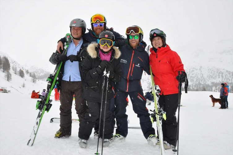 group of Chinese tour operators