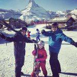 Chinese skiers visit Zermatt for their Winter Olympics
