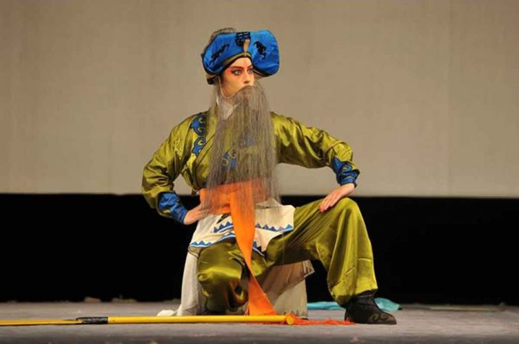 Laura Beijing opera play