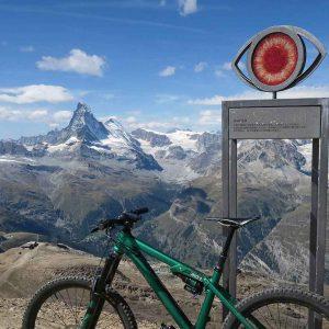 Biken am Oberrothorn