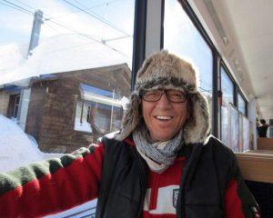Dan Daniell in der Kälte