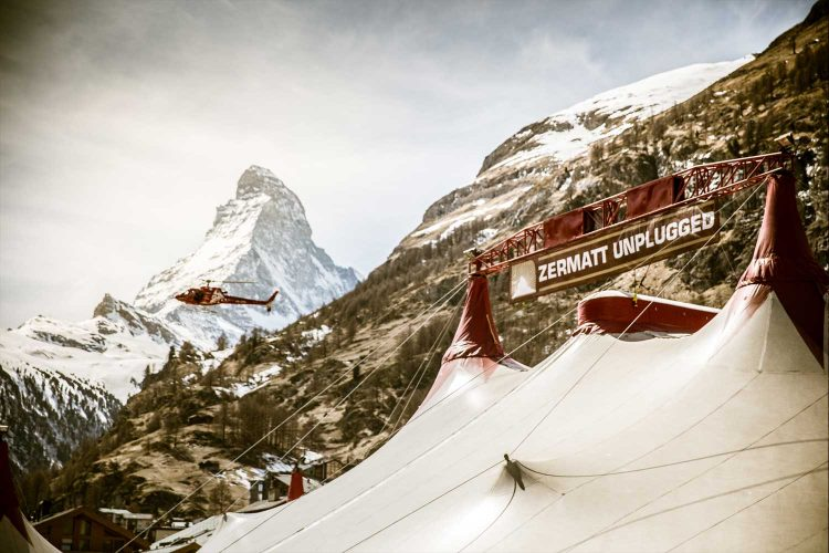 Zermatt Unplugged Zelt