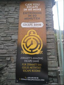 logo from the escape rooms