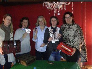 murder mystery in the poker room