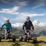 Mountaincarts bringen Abenteuer in die Berge