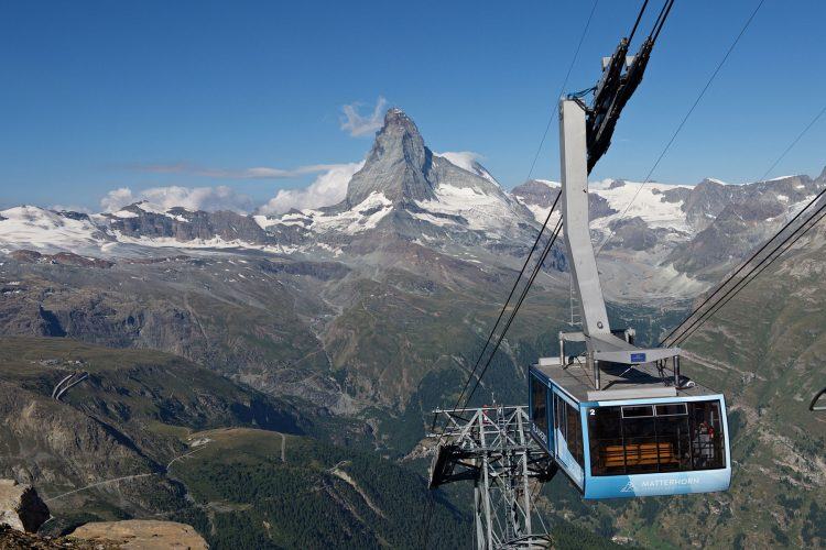Rothorn – one of the different excursion peaks
