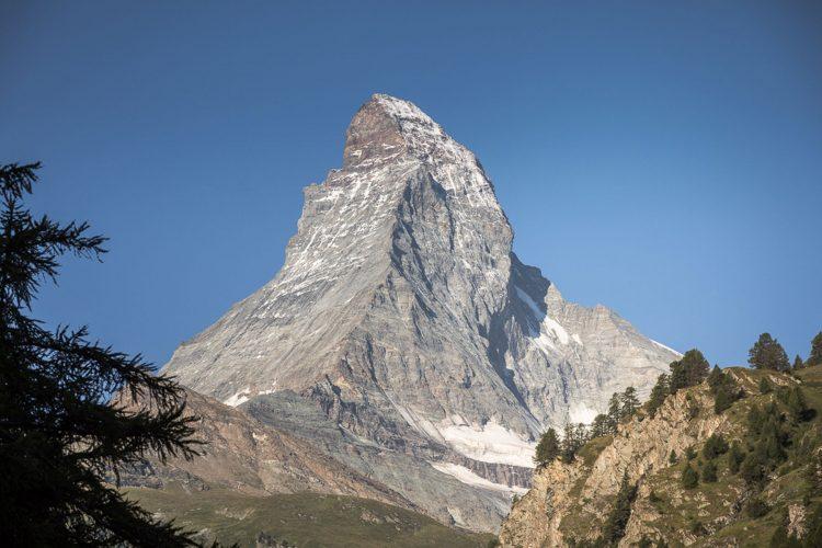 Matterhorn view from the village