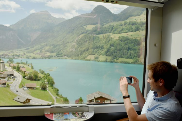 Zermatt via train