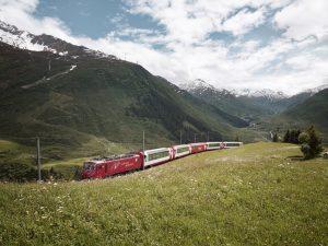 Zermatt via train