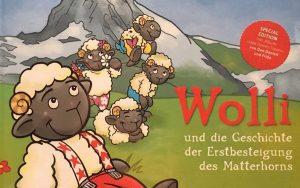 Plakat von Videodreh mit Wolli für den Wollisong
