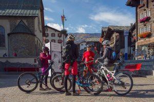 Radtour durch Zermatt