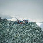 Mammut Alpine Festival in Zermatt: Der erste 4'000er!