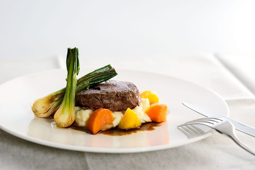 Panoramic Gourmet Beef Tenderloin