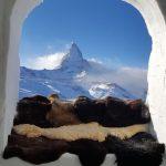 Mitten in der Wildnis im Iglu-Dorf Zermatt