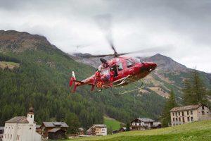 Helikopter landet