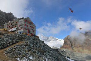 Flug Air Zermatt Unterlast