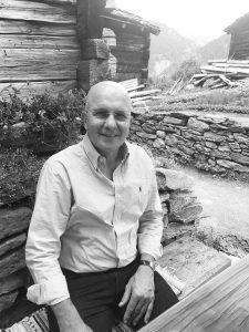 Max Menning Portrait als Koch und Gastwirt