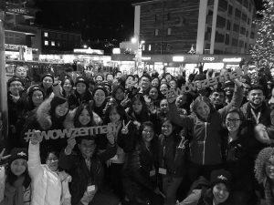 Gruppenfoto mit #wowzermatt