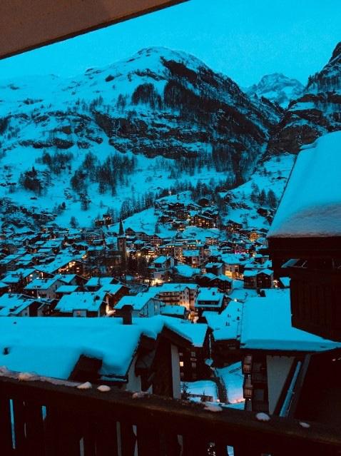 Zermatt in der Dämmerung