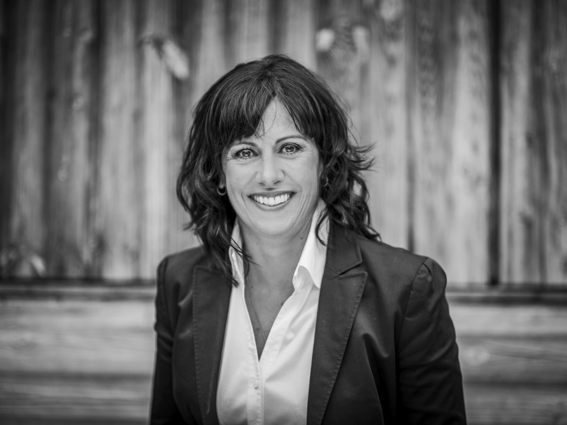 "Portrait: Marcelline Kuonen, Projektleiterin ""The Taste of Zermatt"""