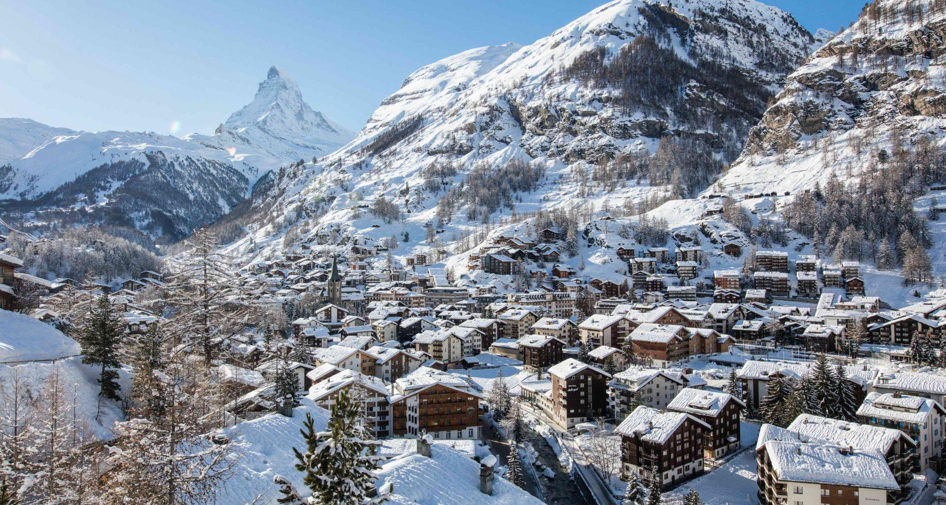 Winter in Zermatt